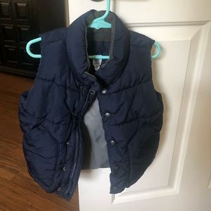 Boys winter vest
